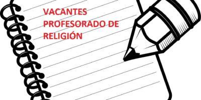 PUBLICACIÓN DE VACANTES PARA EL CURSO 2020-2021