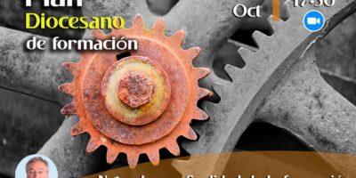 Presentación del plan de formación de discípulos misioneros de la Diócesis 17 de octubre